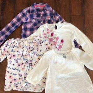 Carters, OskKosh, and Old Navy Girls Tops